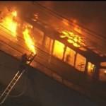 W杯敗退のブラジルで事件続発、バス放火や略奪など