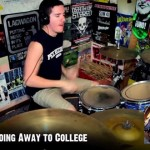 【動画】ブリンク182の全アルバムを5分間でドラムメドレー!!