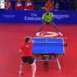 【動画】41回のスーパーラリー!!思わず見とれてしまう卓球ファインプレー