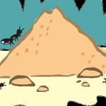 【動画】昆虫ミラクル!!連結して巨大な獲物を巣に運ぶアリの行列