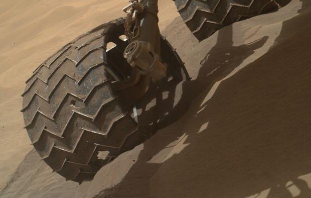 火星探索器 ビフォーアフター 車輪2.1