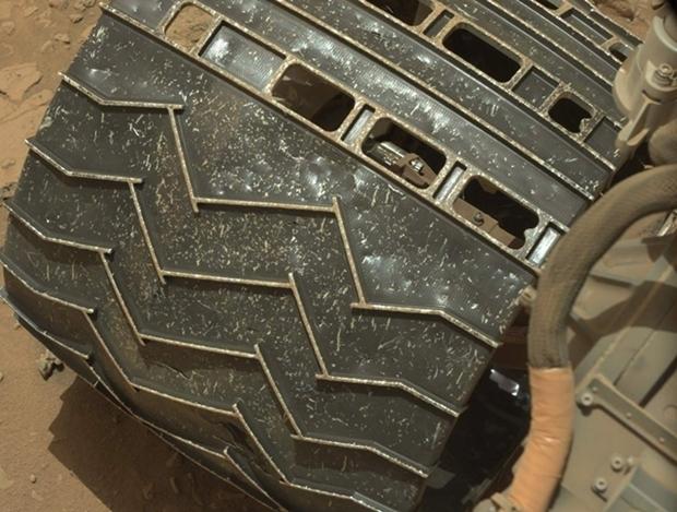 火星探索器 ビフォーアフター 車輪1.1