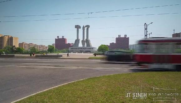 北朝鮮 平壌 映像