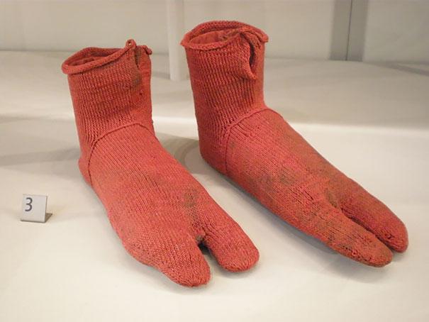 世界最古の靴