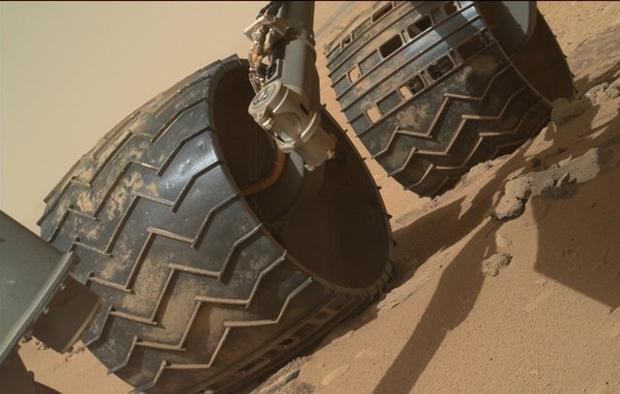 火星探索器 ビフォーアフター 車輪2