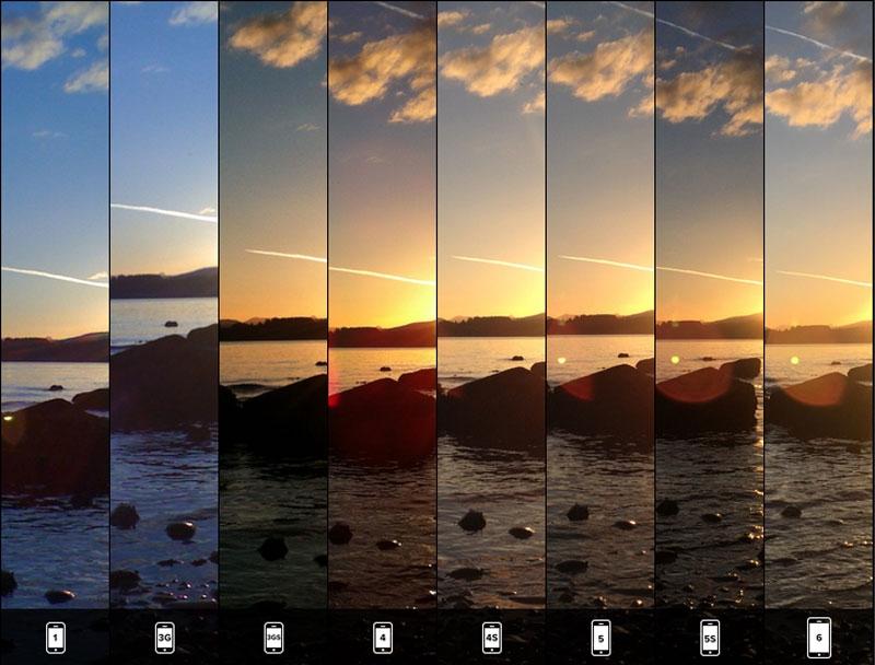 iphone6 カメラ機能 比較4