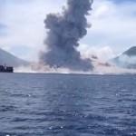 パプアニューギニア火山噴火の瞬間を間近で捉えた貴重映像