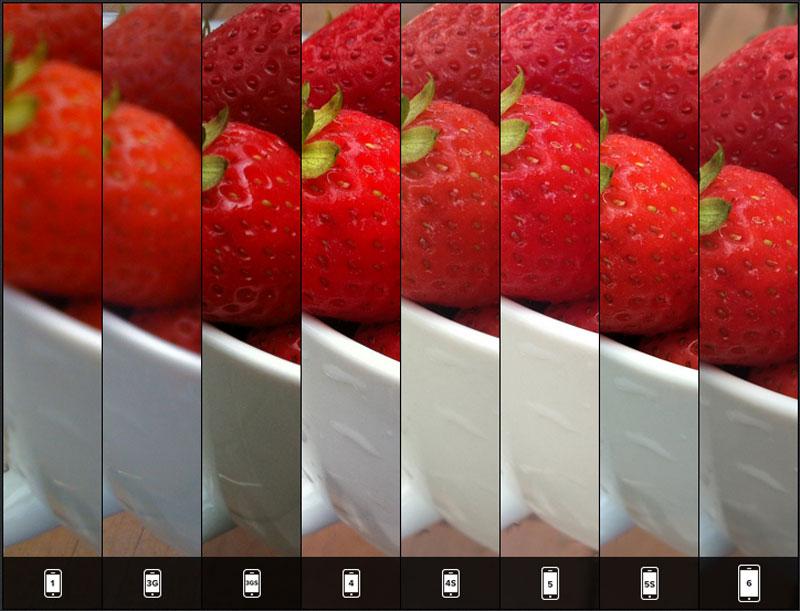 iphone6 カメラ機能 比較1