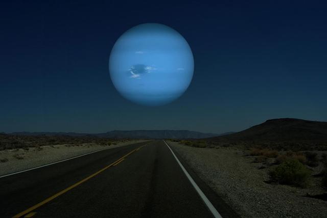 海王星 月と同じ距離だったら