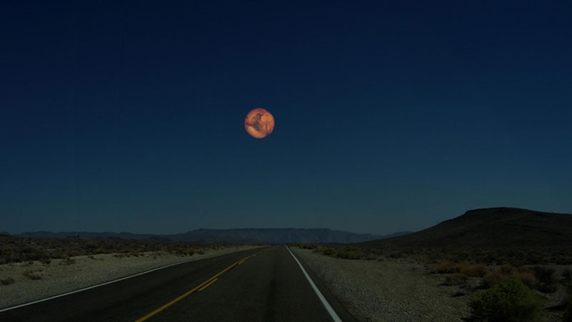 火星 月と同じ距離だったら
