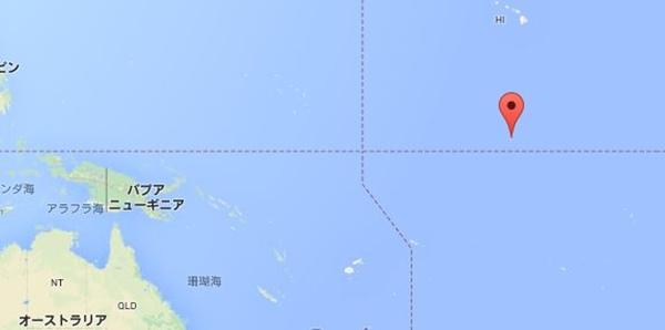 キリバス 地図