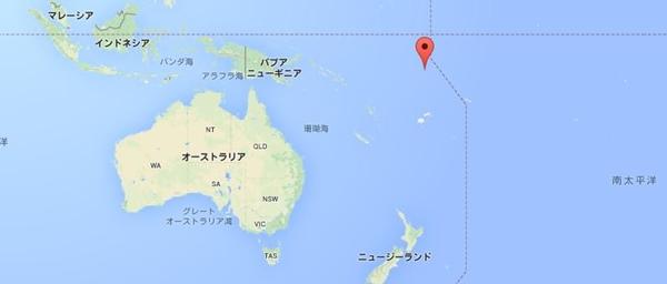 ツバル 地図