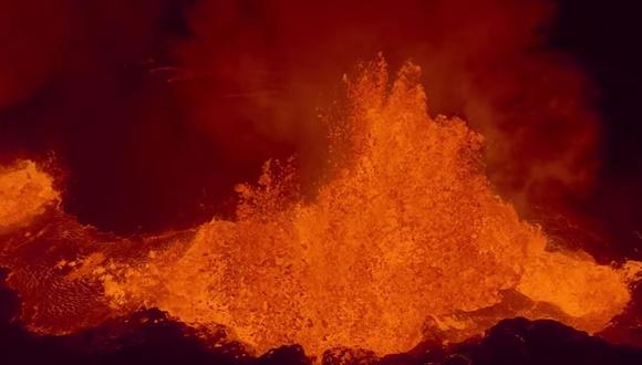バルダルブンガ山 噴火 GoPro