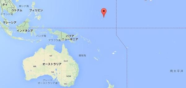 マーシャル諸島 地図