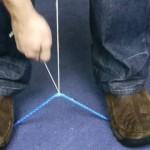 【ライフハック】ハサミやナイフを使わずにロープを切る方法