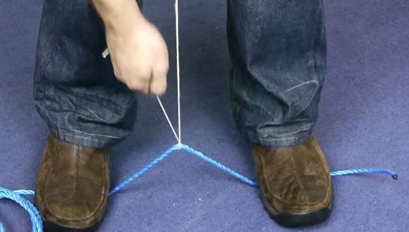 ロープを切る方法