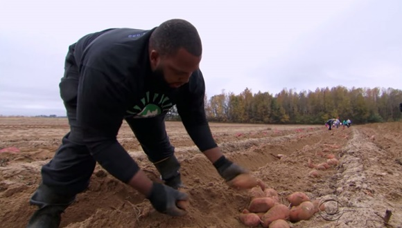 NFL選手 農家