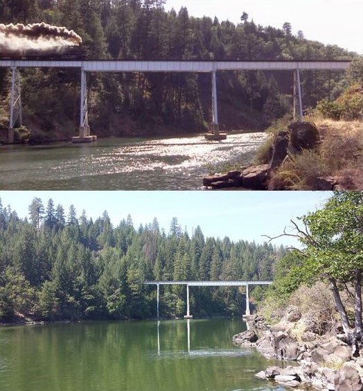 スタンド・バイ・ミー ロケ地 当時と今 鉄道橋3