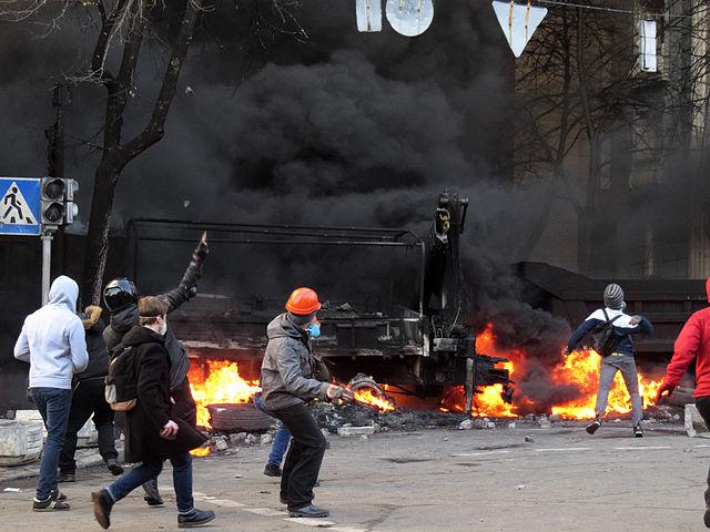 火炎瓶 ウクライナ
