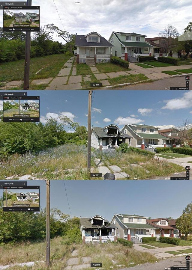 デトロイト廃墟 Bryden Street