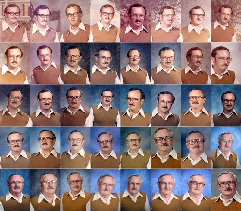40年間同じ服 先生