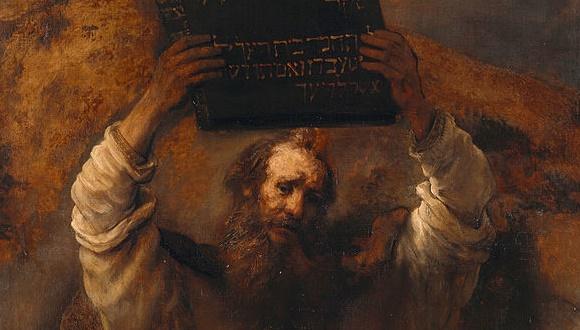 モーセ十戒 無神論者