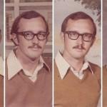 40年間まったく同じ服装で学校アルバムに写り続けた教師