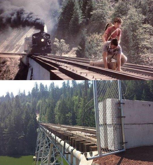 スタンド・バイ・ミー ロケ地 当時と今 鉄道橋4
