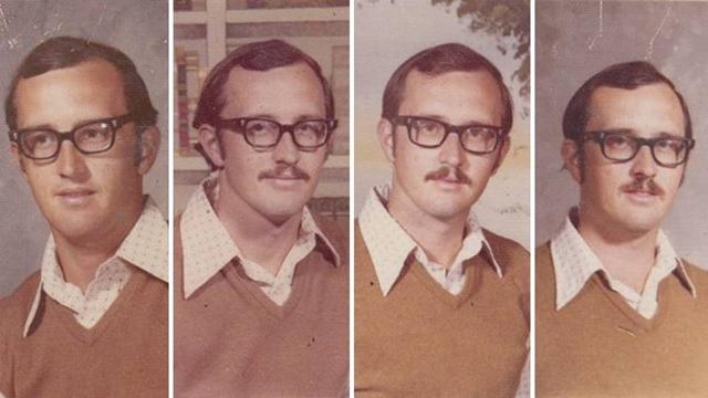 40年間同じ服 先生1