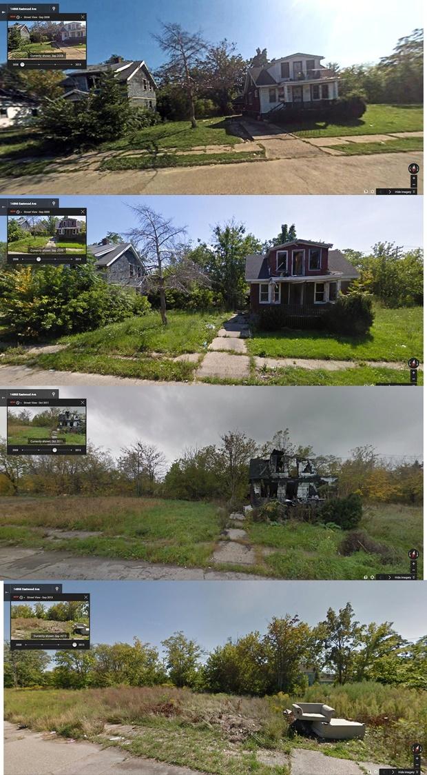 デトロイト廃墟 Eastwood