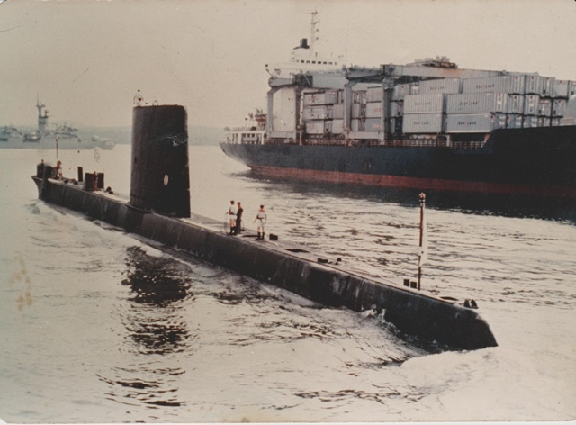 潜水艦 バーベキュー2