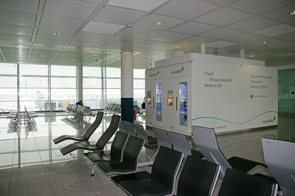 ミュンヘン空港 お昼寝部屋2