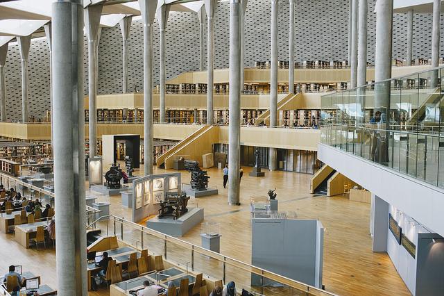 新アレクサンドリア図書館
