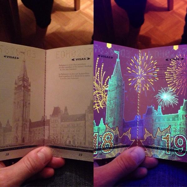 カナダ パスポート