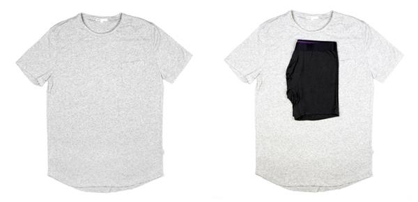 Tシャツをコンパクトに 1