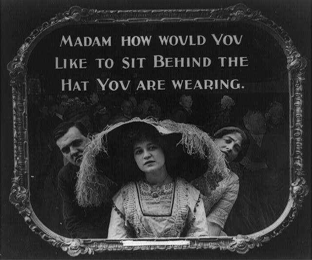 100年前の映画マナーポスター3