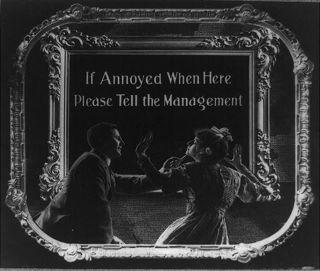 100年前の映画マナーポスター5