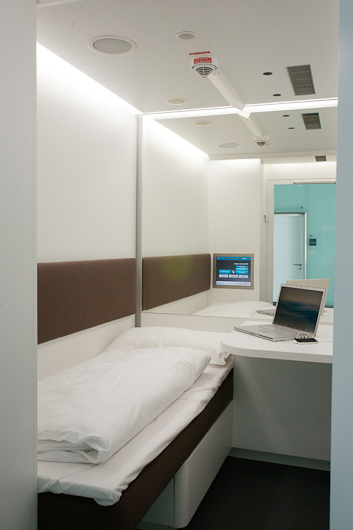 ミュンヘン空港 お昼寝部屋3