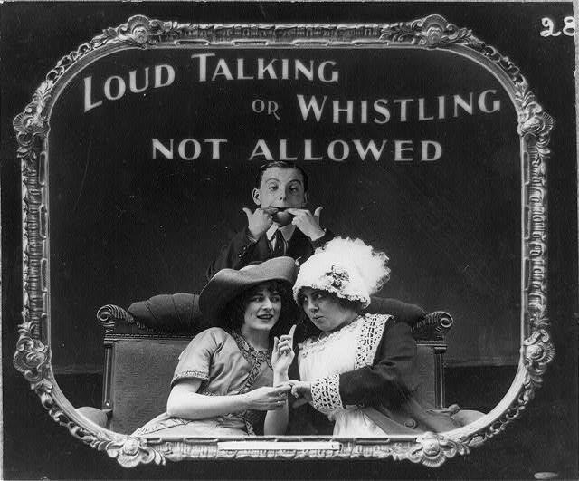 100年前の映画マナーポスター4