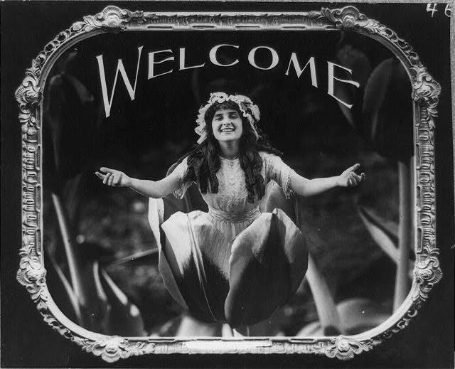100年前の映画マナーポスター