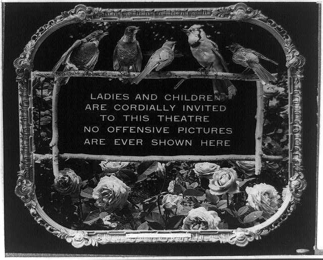 100年前の映画マナーポスター2
