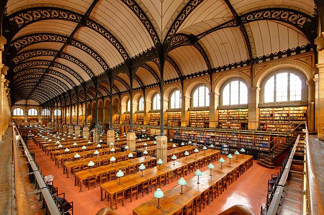聖ジュヌヴィエーヴ図書館