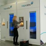 【画像】ミュンヘン国際空港のお昼寝カプセル「Napcabs」