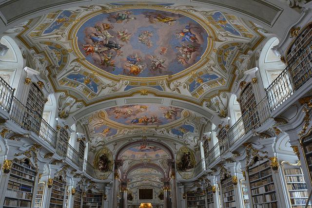 アドモント修道院図書館
