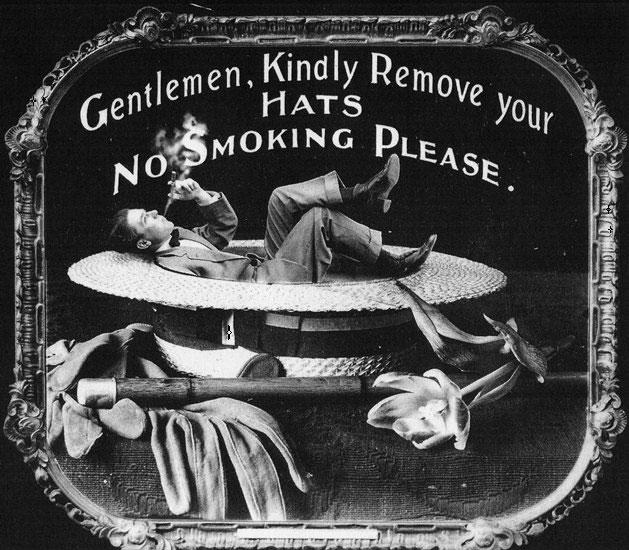 100年前の映画マナーポスター11