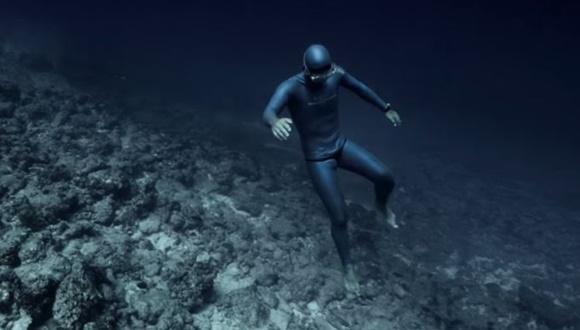 神秘的なフリーダイビング