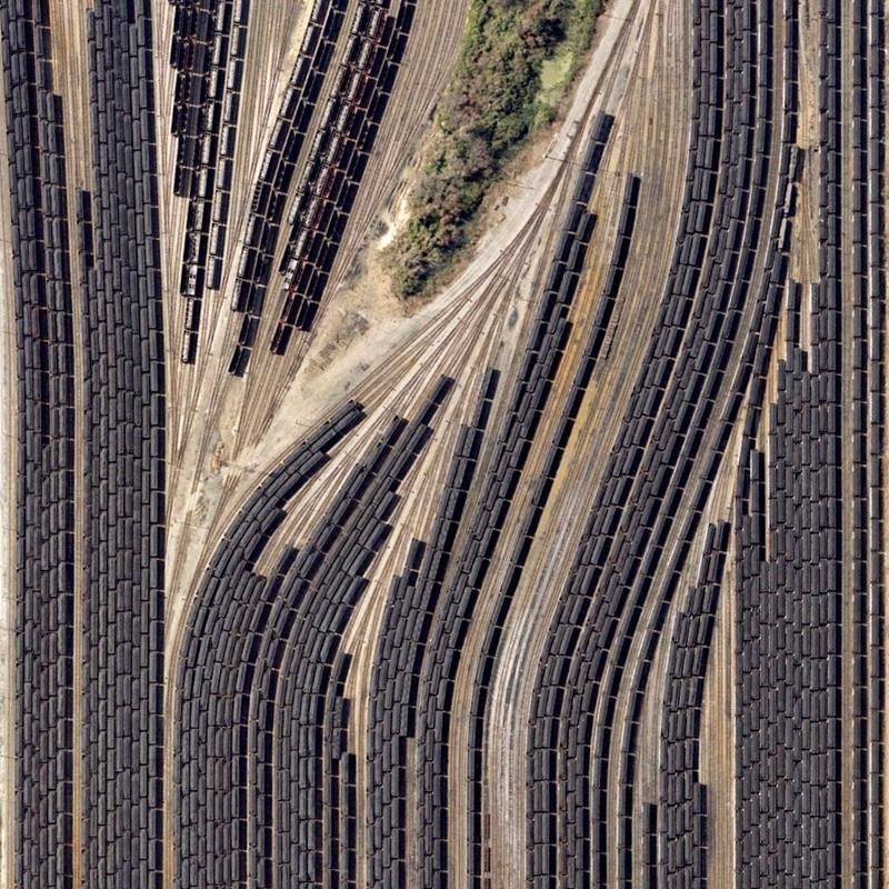 ノーフォークの列車車庫