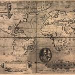 【画像】400年以上前に作成された世界地図