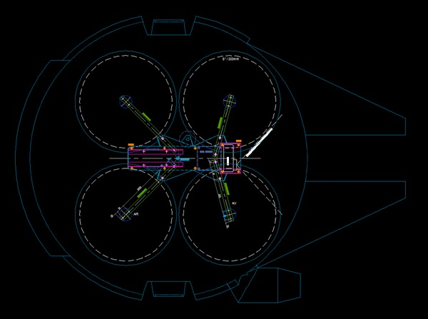 ファルコン号 ラジコン 設計図