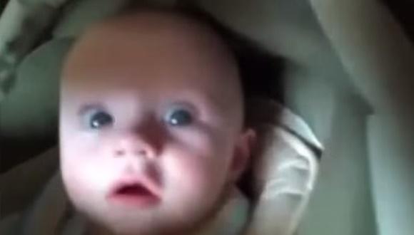 赤ちゃん リアクション